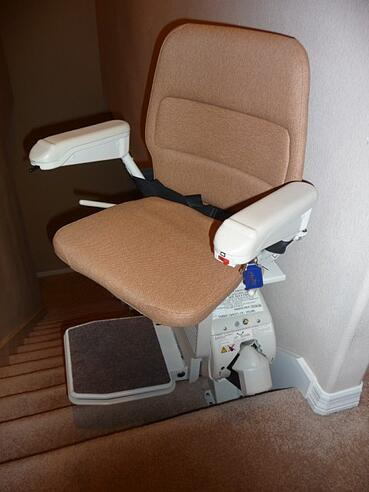 Great stairlift with swivel seat
